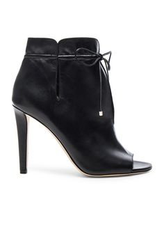 Leather Memphis Booties