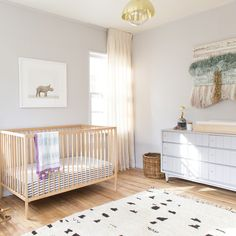 Instagram by moderncamper - This soft California nursery is on #mdrncmprmini tomorrow.  #design #baby #kids #interiors