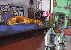 By Georgia Lobo  70X50 óleo sobre tela