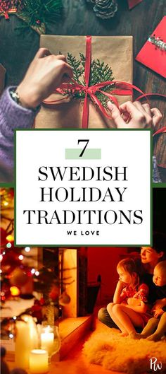 7 Swedish Holiday Traditions That Are So Cool (and Kind of Weird) - Searching Scandinavia - 7 Swedish Holiday Traditions That Are So Cool (and Kind of Weird) Here, seven Swedish traditions you can incorporate into your own festivities.