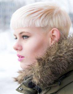Coupe de cheveux courte femme hiver 2016