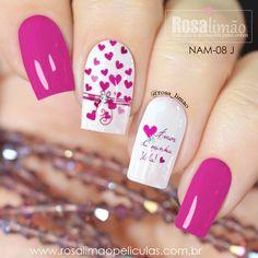 Latest Nail Designs, Valentine's Day Nail Designs, Pink Nail Art, Nail Art Diy, Trendy Nail Art, Stylish Nails, Fancy Nails, Cute Nails, Acrylic Nails Coffin Short