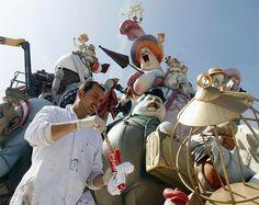 Common Sense  , Optimism , Humor & Knowledge: Las Fallas Festival 2012