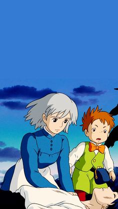 STUDIO GHIBLI GIFS : Howl's Moving Castle phone wallpapers | Set #2 ...
