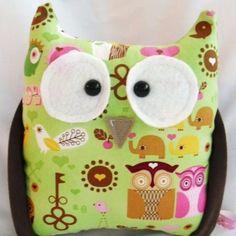 Owl Plushie Gerald the Owl