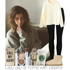 Lazy day at home with Eleanor by irish26-1 on Polyvore featuring M&S, UGG Australia and Charlotte Russe