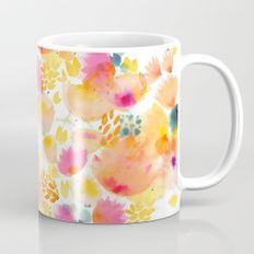 Watercolor Bouquet Coffee Mug