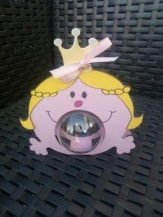 Boite à dragées thème madame princesse + boule plexi - baptême, baby shower, anniversaire - : Boîtes, coffrets par lilou652