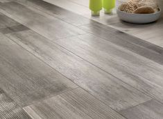 tile that looks like hardwood floor | medium grey wooden floor tiles closeup: