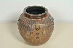 Jerome & Evelyn Ackerman Stoneware Vase 1970's