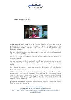GNBFARMA PROFILE