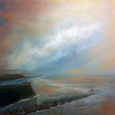 Buy Harbour Entrance, Oil painting by Ray Burnell on Artfinder. Discover thousands of other original paintings, prints, sculptures and photography from independent artists.