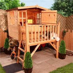 a kids playhouse I would buy for my cats:)) (gardencentredirect.uk)