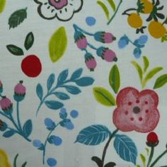 Sweet Briar Oilcloth in Summer