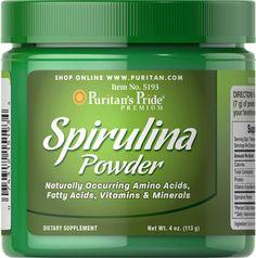 ¿Conoce los beneficios de la espirulina? http://es.puritan.com/salud-general/vitalidad/espirulina/
