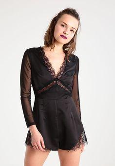 bestil  Missguided Petite Overall / Jumpsuit /Buksedragter - black til kr 399,00 (27-04-17). Køb hos Zalando og få gratis levering.