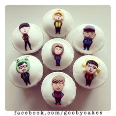 Running Man Cupcakes!