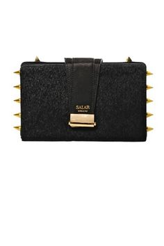 Jewel box: we're obsessed with the tiny clutch bag! From Salar Lou