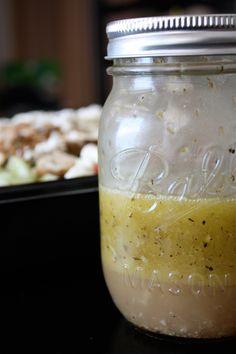 Greek Salad Dressing for Greek Grilled Chicken Salad | AggiesKitchen.com #healthy #salad #chicken