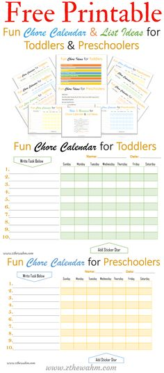 12 Best Chore Calendar Images Co Parenting Sons Activities For Kids