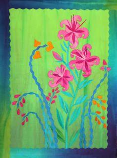 Frieda Anderson - Hand dyed fabric, Quilt Artist, Teacher | Dyeing Workshop