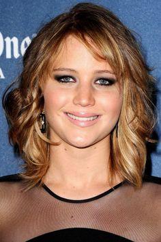 Jennifer Lawrence Short Hairstyles 2013