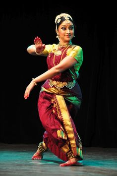 My guru, Malavika Venkatsubbaiah, artistic director of Natyam Dance Academy in Edmonton, Canada