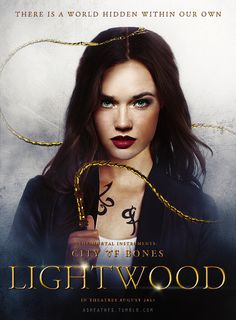 Isabelle Lightwood- can't help but think that she looks like Will/Cecily Herondale in this pic
