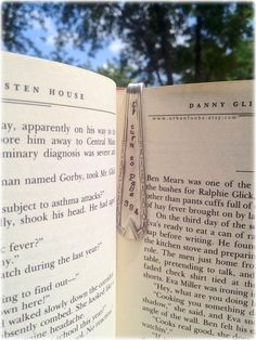 Harry Potter-inspired Metal Bookmark  Handstamped  by UrbanFunke
