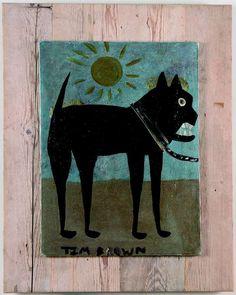 Tim Brown (1923), Bark.