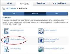 Factura electrónica Telcel FACTURA ELECTRONICA TELCEL