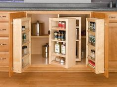 Jeri's Organizing & Decluttering News: Space-Saving Idea: Fold-Out Pantries
