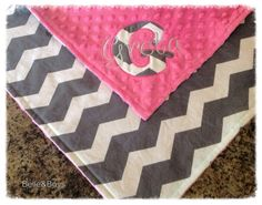 personalized baby blanket I love love love this blanket!! Just made one similar without the personalization!  :) time to try this!