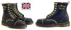 8 Eye Black Capper Dr. Martens Boot (MADE IN ENGLAND!)