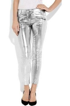 Everyone, I just got some amazing brand name purses,shoes,jewellery and a nice dress from here for CHEAP! If you buy, enter code:atPinterest to save http://www.superspringsales.com -   Balmain leather motocross pants