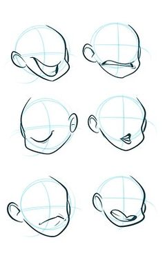 31 Ideas Drawing Reference Face Mouths Animation For 2019 Drawing Techniques, Drawing Tips, Drawing Sketches, Cartoon Drawings, Cartoon Art, Art Drawings, Drawing Expressions, Poses References, Drawing Reference Poses