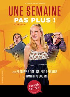 Une Semaine, pas plus ! Café Theatre, Michel, Movies, Movie Posters, Films, Film Poster, Cinema, Movie, Film