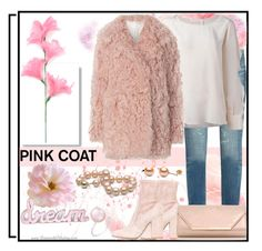 """""""Pretty Pink Coat"""" by jeneric2015 ❤ liked on Polyvore featuring Yves Saint Laurent, See by Chloé, A.L.C., Valentino, Dorothy Perkins, Delfina Delettrez and pinkcoats"""