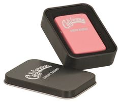 Zippo Type Lighter  Pink  Black Stainless Steel by TheSmilinBride, $20.00