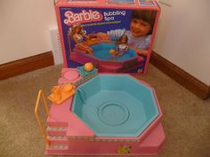 Barbie Bubbling Spa. This was the coolest!