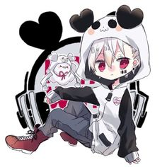 Mafumafu in Honey Work Style Anime Neko, Anime Manga, Anime Guys, Anime Art, Neko Kawaii, Kawaii Cute, Chibi Cat, Cute Chibi, Natsume Yuujinchou