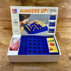 Numbers Up MB Games 1977 Boxed Complete With Poly Inserts Ect Superb Condition Game 7, Numbers, Conditioner, Vintage, Ebay, Numeracy, Primitive