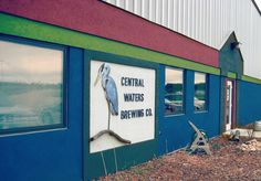Central Waters Brewery, a brewery dedicated to environmental sustainability, is located in Amherst. Their Mudpuppy Porter is a popular brew among Wisconsinites. http://centralwaters.com/