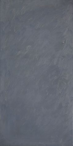 Gerhard Richter: Grau (Grey), 1970. Oil on canvas. 200 cm x 100 cm. Catalogue of works/Werkverzeichnis Nr.: 247-6.