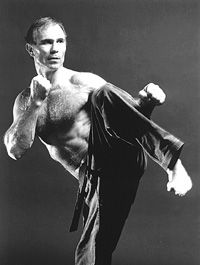 "Bill ""Superfoot"" Wallace (Portland, OR) 1945 Ranked 10th dan black belt Soke and with the title Grandmaster, he was PKA champion for 6 years. Out of 23 fights he was undefeated. Movie roles include Fight to Win, Silent Assassins, Sword of Heaven and A Force of One with Chuck Norris"