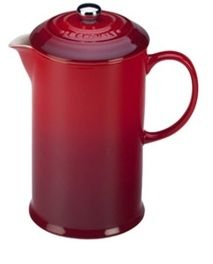 Le Creuset - French Press - Cherry