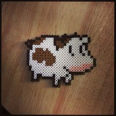 Perler Bead  Cow Adorable by PerlerPaws on Etsy, $5.00