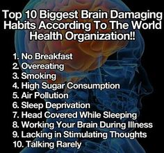 via More Psychology Hacks Here – Life Hackable. Almost all of this list of brain damaging habits are things more likely to affect people in poverty. I am so sorry for my redundancy at times b… Health And Beauty, Health And Wellness, Health Tips, Health Fitness, Fitness Plan, The More You Know, Good To Know, Daily Life Hacks, Tips & Tricks