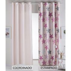 Cortinas de Estrellas para Dormitorio Infantil con bonitos estampados y diseños.