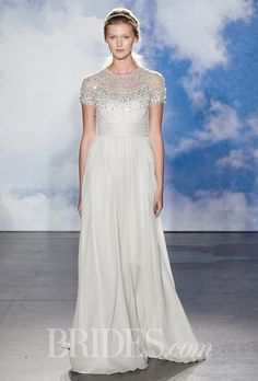 Brides.com: Jenny Packham - Spring 2015. Wedding dress by Jenny Packham